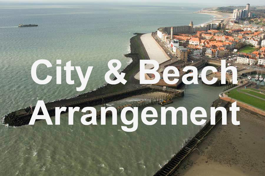 City & Beach Arrangement